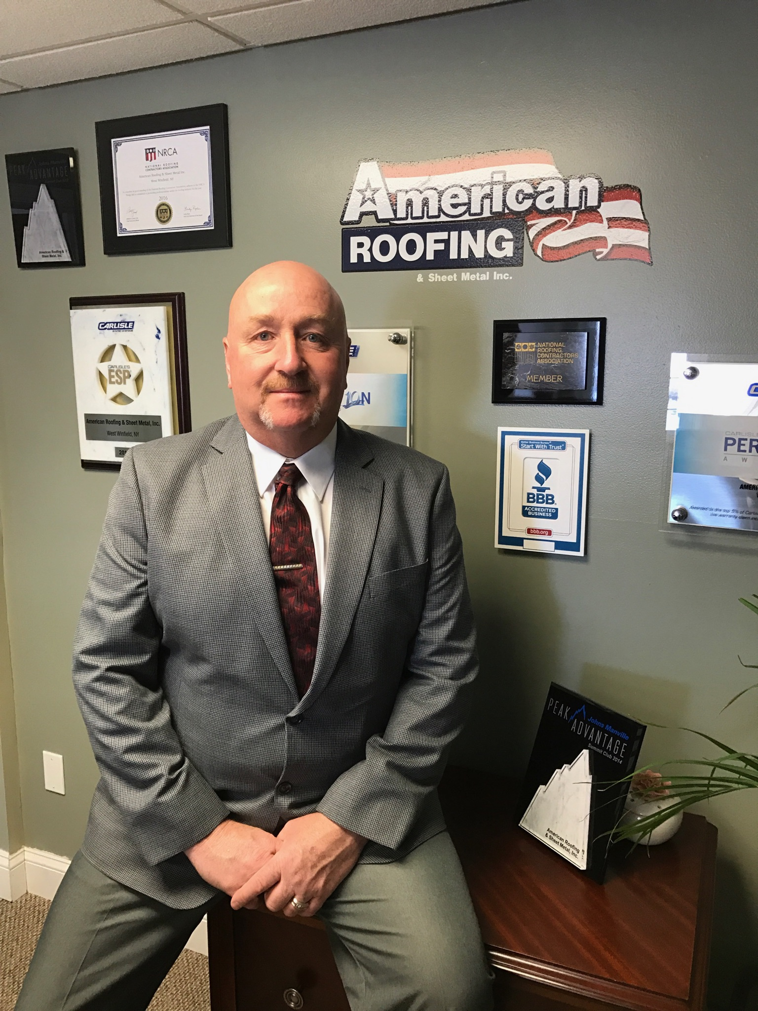 American Roofing Amp Sheet Metal Inc Commercial Roofing